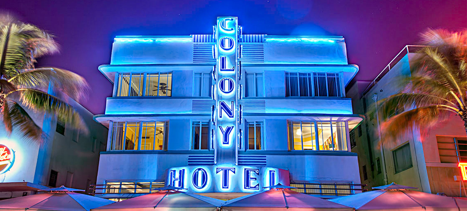 Colony Hotel Neon Light